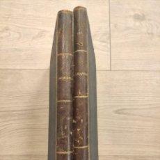 Libros antiguos: TRATADO COMPLETO DE AGRICULTURA MODERNA GUMERSINDO VICUÑA 2 TOMOS 1877 NICOLAS MARIA SERRANO. Lote 219839560