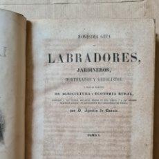 Libros antiguos: CURSO DE AGRICULTURA PRACTICA. 1-2. 1861. AGUSTIN DE QUINTO. Lote 219992905