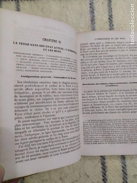 Libros antiguos: 1857. La tierra y el hombre. Geología, geografía y etnología. Maury. - Foto 3 - 220529372