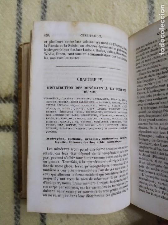 Libros antiguos: 1857. La tierra y el hombre. Geología, geografía y etnología. Maury. - Foto 5 - 220529372