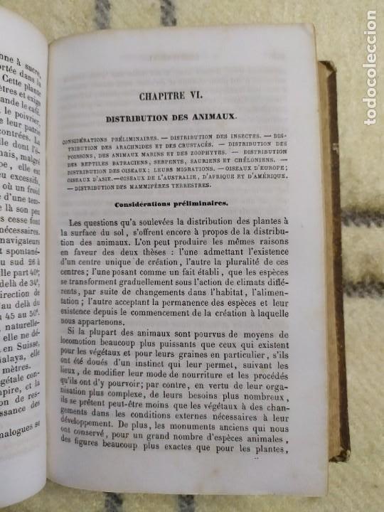 Libros antiguos: 1857. La tierra y el hombre. Geología, geografía y etnología. Maury. - Foto 7 - 220529372