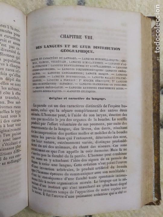 Libros antiguos: 1857. La tierra y el hombre. Geología, geografía y etnología. Maury. - Foto 9 - 220529372