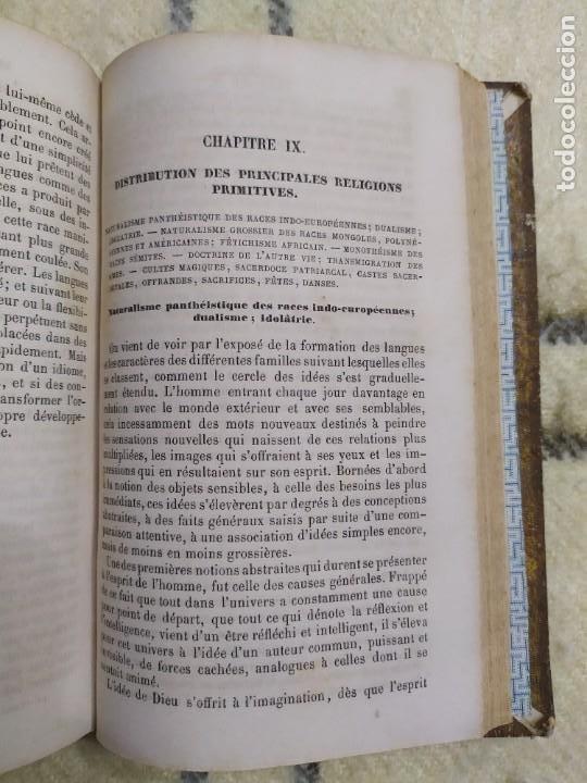 Libros antiguos: 1857. La tierra y el hombre. Geología, geografía y etnología. Maury. - Foto 10 - 220529372