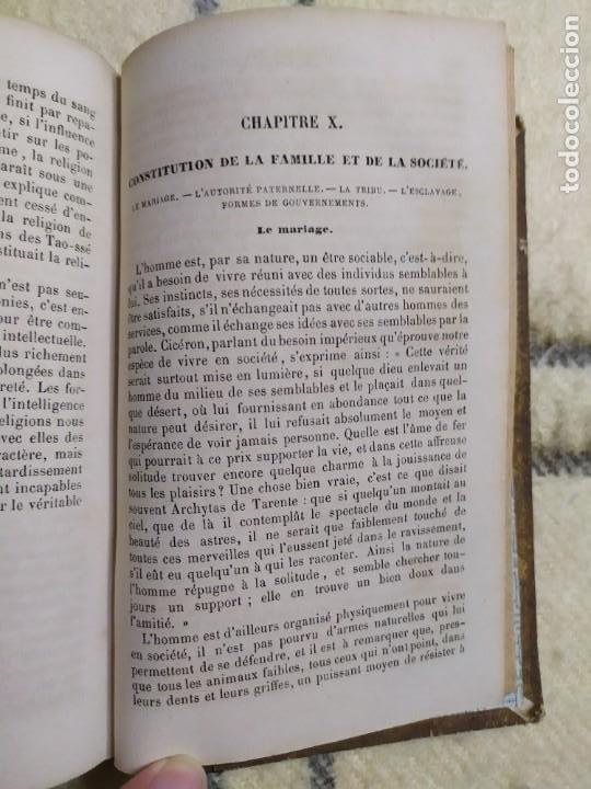 Libros antiguos: 1857. La tierra y el hombre. Geología, geografía y etnología. Maury. - Foto 11 - 220529372