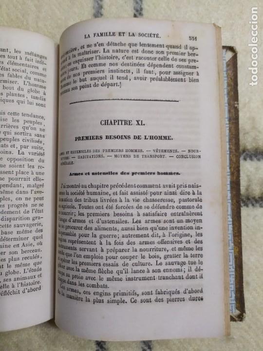 Libros antiguos: 1857. La tierra y el hombre. Geología, geografía y etnología. Maury. - Foto 12 - 220529372
