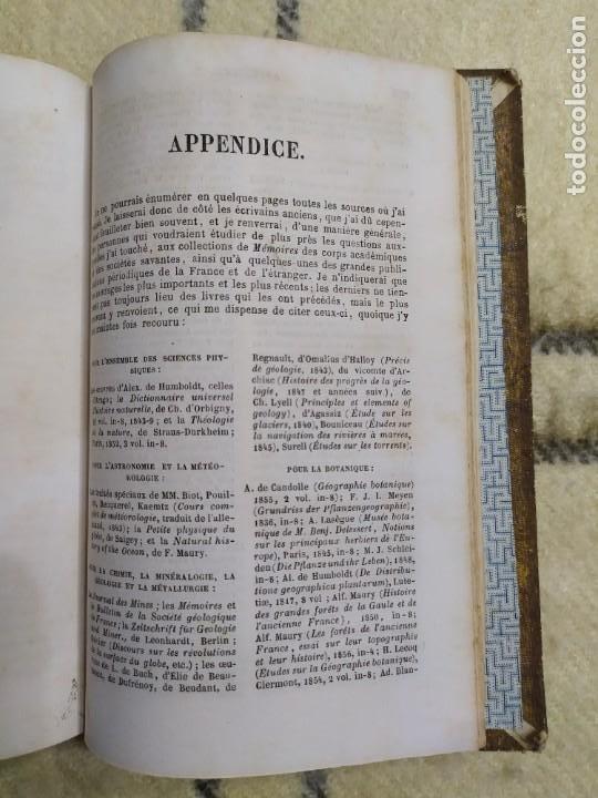 Libros antiguos: 1857. La tierra y el hombre. Geología, geografía y etnología. Maury. - Foto 13 - 220529372
