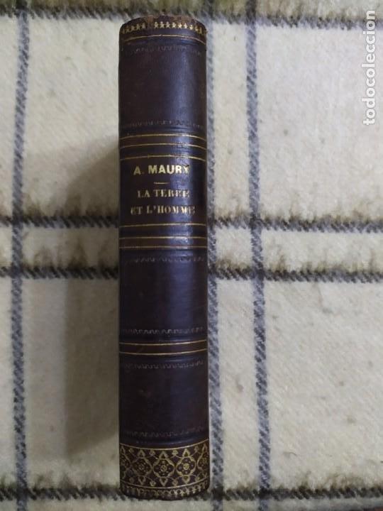 Libros antiguos: 1857. La tierra y el hombre. Geología, geografía y etnología. Maury. - Foto 14 - 220529372
