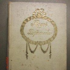 Libros antiguos: MANUAL DEL PREFUMISTA -AÑO 1916. Lote 221102466