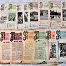 Libros antiguos: LOTE 17 EJEMPLARES BOLETÍN DE INFORMACIÓN TÉCNICA DE AGRICULTURA AÑOS 1931, 1933, 1934 Y 1935 TABACO. Lote 221632478