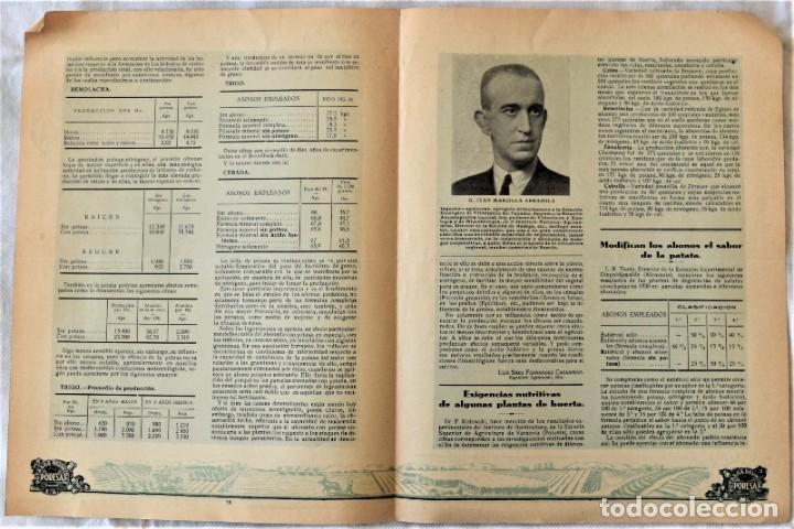 Libros antiguos: LOTE 17 EJEMPLARES BOLETÍN DE INFORMACIÓN TÉCNICA DE AGRICULTURA AÑOS 1931, 1933, 1934 Y 1935 TABACO - Foto 6 - 221632478