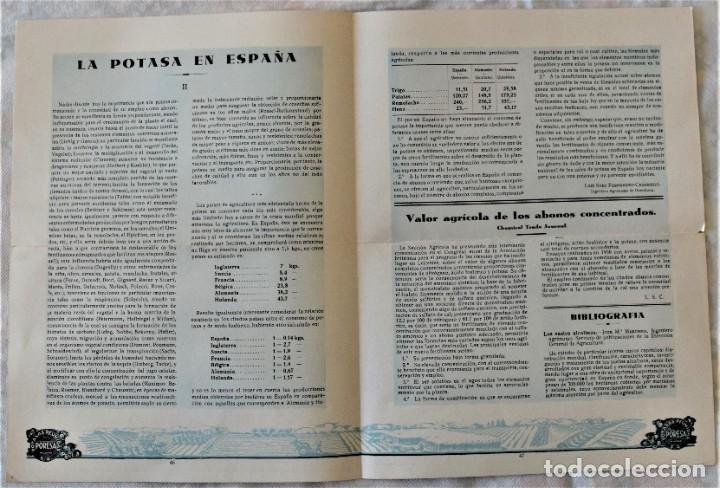 Libros antiguos: LOTE 17 EJEMPLARES BOLETÍN DE INFORMACIÓN TÉCNICA DE AGRICULTURA AÑOS 1931, 1933, 1934 Y 1935 TABACO - Foto 7 - 221632478