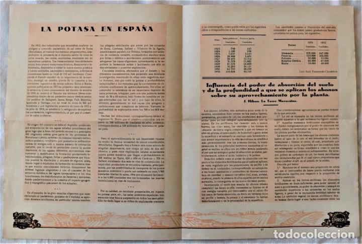 Libros antiguos: LOTE 17 EJEMPLARES BOLETÍN DE INFORMACIÓN TÉCNICA DE AGRICULTURA AÑOS 1931, 1933, 1934 Y 1935 TABACO - Foto 8 - 221632478