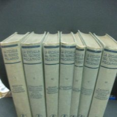 Libros antiguos: LA ESCUELA DEL TECNICO MECANICO. 7 TOMOS. EDITORIAL LABOR 1927. Lote 221883366