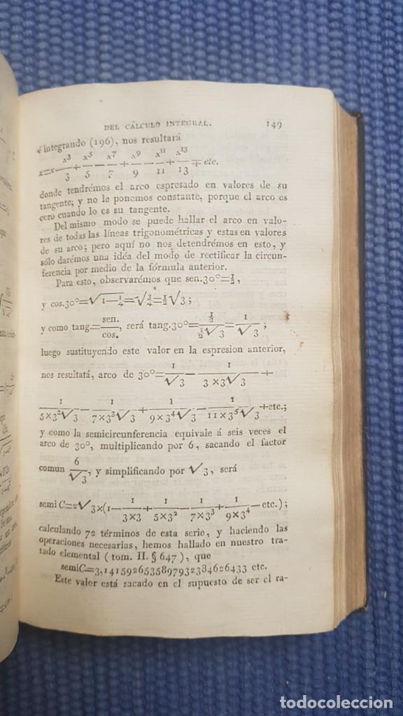 Libros antiguos: Vallejo, José Mariano: Compendio de Matematicas puras y mistas - Foto 2 - 222195690