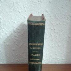 Libros antiguos: ANÁLISIS INFINITESIMAL CASTELLS. Lote 223972591