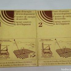 Libros antiguos: FUENTES DE ENERGÍA, EDICIÓN 1978 2 TOMOS. Lote 224309336