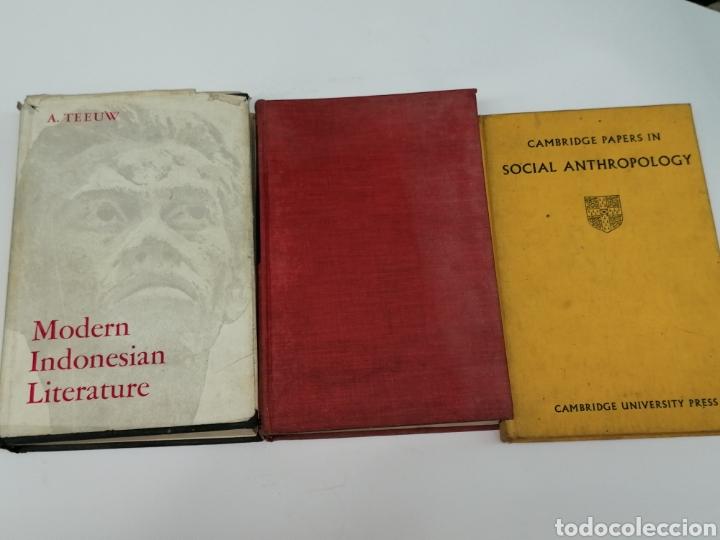LIBROS ANTROPOLOGIA LOTE DE 3 EN INGLÉS (Libros Antiguos, Raros y Curiosos - Ciencias, Manuales y Oficios - Paleontología y Geología)