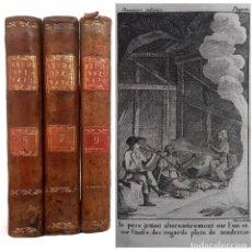 Libros antiguos: 1793 - ESTUDIOS DE LA NATURALEZA DE B. DE SAINT-PIERRE - BOTÁNICA, CIENCIAS NATURALES - 3 TOMOS. Lote 224668517