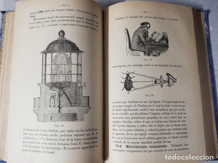 Libros antiguos: LIBRO ELEMENTOS DE FISICA MODERNA - P.TEODORO RODRIGUEZ - AÑO 1894 - MUY ILUSTRADO CON FOTOGRABADOS. - Foto 3 - 224689345