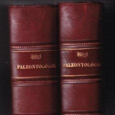 Livres anciens: KARL A. ZITTEL: TRAITÉ DE PALÉONTOLOGIE. PALÉOZOOLOGIE. 2 VOLS. 1883-87 PALEOZOOLOGÍA. Lote 224912548