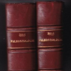 Livros antigos: KARL A. ZITTEL: TRAITÉ DE PALÉONTOLOGIE. PALÉOZOOLOGIE. 2 VOLS. 1883-87 PALEOZOOLOGÍA. Lote 224912548