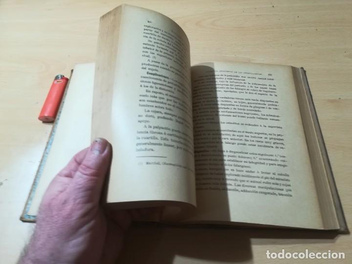 Libros antiguos: ENCICLOPEDIA VETERINARIA C CADEAC / PATOLOGIA QUIRURGICA ARTICULACIONES T DUODECIMO / ED FELIPE GONZ - Foto 15 - 225050865