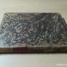 Libros antiguos: DICCIONARIO DE VETERINARIA, CAGNY - GOBERT / TOMO PRIMERO / ED FELIPE GONZALEZ ROJAS / Q306. Lote 225052506