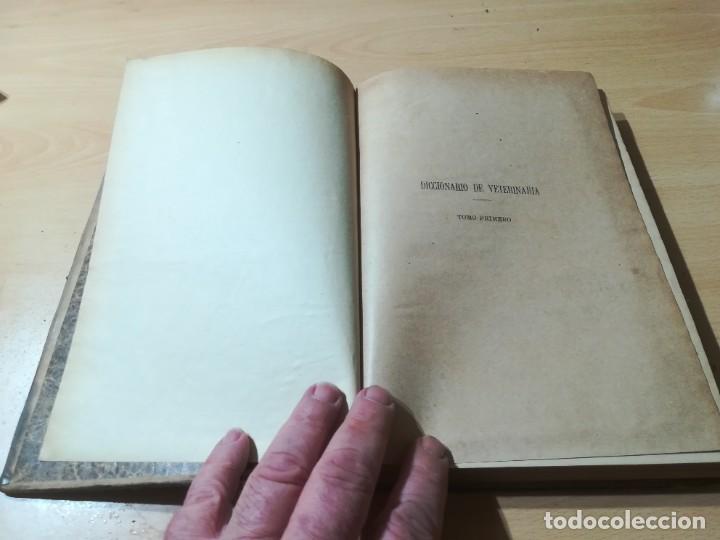 Libros antiguos: DICCIONARIO DE VETERINARIA, CAGNY - GOBERT / TOMO PRIMERO / ED FELIPE GONZALEZ ROJAS / Q306 - Foto 4 - 225052506