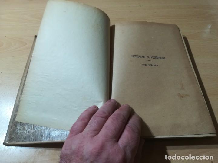 Libros antiguos: DICCIONARIO DE VETERINARIA, CAGNY - GOBERT / TOMO TERCERO / ED FELIPE GONZALEZ ROJAS / Q306 - Foto 4 - 225052605