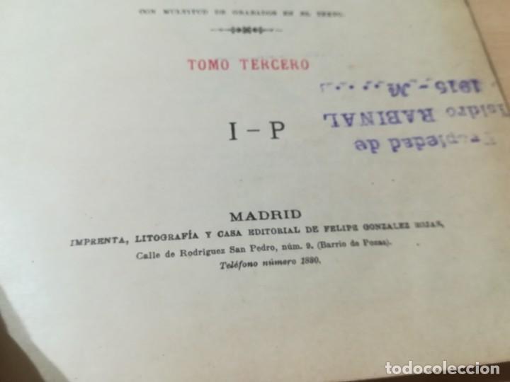 Libros antiguos: DICCIONARIO DE VETERINARIA, CAGNY - GOBERT / TOMO TERCERO / ED FELIPE GONZALEZ ROJAS / Q306 - Foto 7 - 225052605