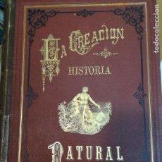 Libros antiguos: DOCTOR D. JUAN VILANOVA Y PIERA HISTORIA NATURAL. VOLÚMENES 2,3,4,5 Y 6 S1741T. Lote 225725022