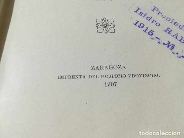 Libros antiguos: ZOOTECNIA - TRATADO DE GANADERIA E INDUSTRIAS RURALES / PEDRO MOYANO / 1907 IMPRENTA HOSPICIO ZARAGO - Foto 7 - 226130925