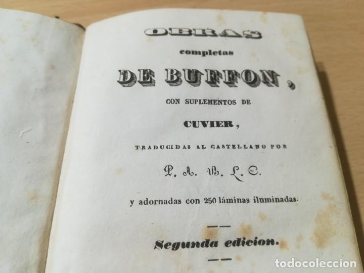 Libros antiguos: OBRAS COMPLETAS DE BUFFON / XLIV HISTORIA DE LAS AVES / 1841 BERGNES Y Cª BARCELONA / AB105 - Foto 5 - 226612465