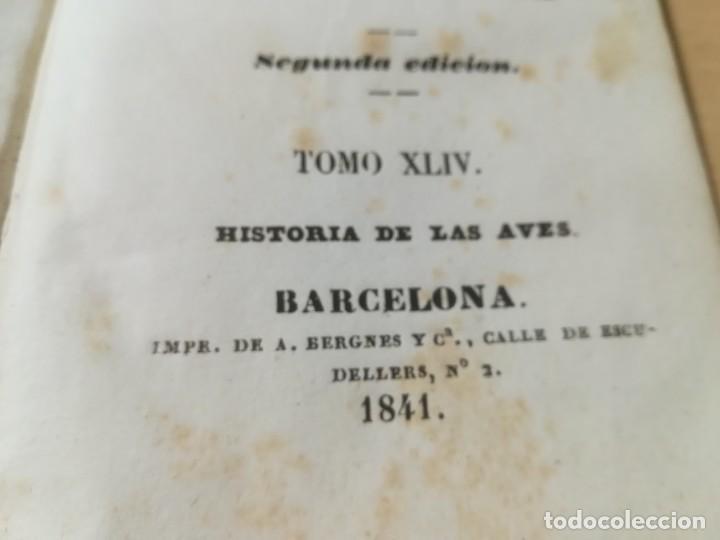 Libros antiguos: OBRAS COMPLETAS DE BUFFON / XLIV HISTORIA DE LAS AVES / 1841 BERGNES Y Cª BARCELONA / AB105 - Foto 6 - 226612465