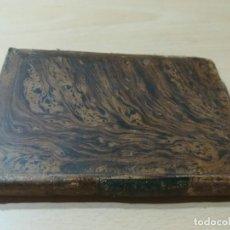 Libros antiguos: OBRAS COMPLETAS DE BUFFON / V HISTORIA DEL HOMBRE / 1834 BERGNES Y Cª BARCELONA / AB105. Lote 226612770