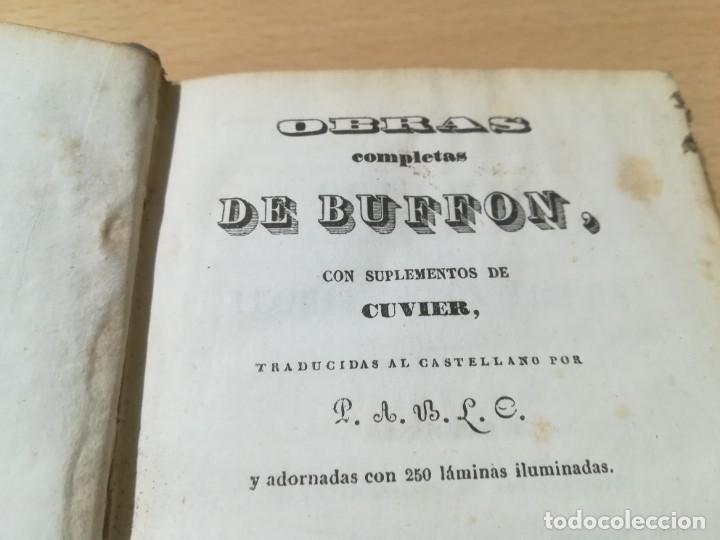 Libros antiguos: OBRAS COMPLETAS DE BUFFON / III TEORIA DE LA TIERRA / 1841 BERGNES Y Cª BARCELONA / AB105 - Foto 4 - 226614652