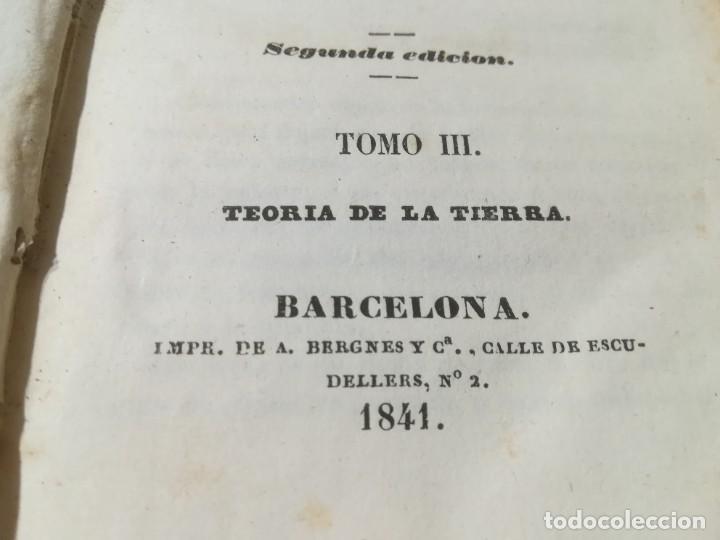 Libros antiguos: OBRAS COMPLETAS DE BUFFON / III TEORIA DE LA TIERRA / 1841 BERGNES Y Cª BARCELONA / AB105 - Foto 5 - 226614652