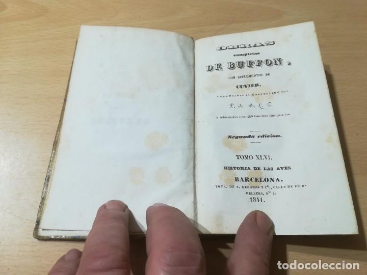 Libros antiguos: OBRAS COMPLETAS DE BUFFON / XLVI HISTORIA DE LAS AVES / 1841 BERGNES Y Cª BARCELONA / AB105 - Foto 3 - 226622510