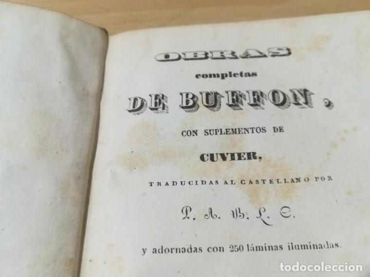 Libros antiguos: OBRAS COMPLETAS DE BUFFON / XLVI HISTORIA DE LAS AVES / 1841 BERGNES Y Cª BARCELONA / AB105 - Foto 4 - 226622510