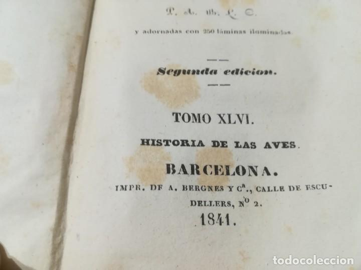 Libros antiguos: OBRAS COMPLETAS DE BUFFON / XLVI HISTORIA DE LAS AVES / 1841 BERGNES Y Cª BARCELONA / AB105 - Foto 5 - 226622510