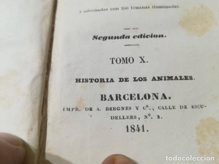 Libros antiguos: OBRAS COMPLETAS DE BUFFON / X HISTORIA DE LOS ANIMALES / 1841 BERGNES Y Cª BARCELONA / AB105 - Foto 5 - 226623690