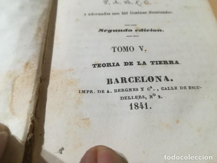 Libros antiguos: OBRAS COMPLETAS DE BUFFON / V TEORIA DE LA TIERRA / 1841 BERGNES Y Cª BARCELONA / F207 - Foto 5 - 226623825