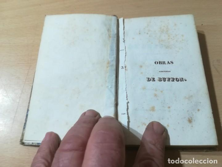Libros antiguos: OBRAS COMPLETAS DE BUFFON / LVI SUPLEMENTOS DE CUVIER / 1841 BERGNES Y Cª BARCELONA / F207 19,75 - Foto 4 - 226624110