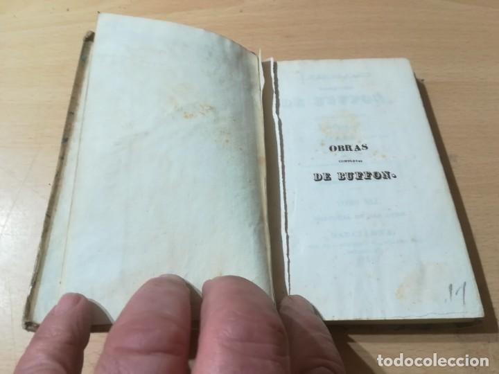 Libros antiguos: OBRAS COMPLETAS DE BUFFON / XLI HISTORIA DE LAS AVES / 1841 BERGNES Y Cª BARCELONA / F207 - Foto 3 - 226624785