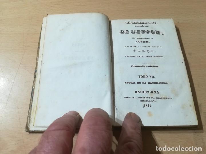 Libros antiguos: OBRAS COMPLETAS DE BUFFON / VII EPOCAS DE LA NATURALEZA / 1841 BERGNES Y Cª BARCELONA / F207 - Foto 4 - 226624900