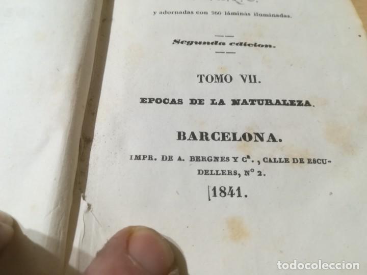 Libros antiguos: OBRAS COMPLETAS DE BUFFON / VII EPOCAS DE LA NATURALEZA / 1841 BERGNES Y Cª BARCELONA / F207 - Foto 6 - 226624900