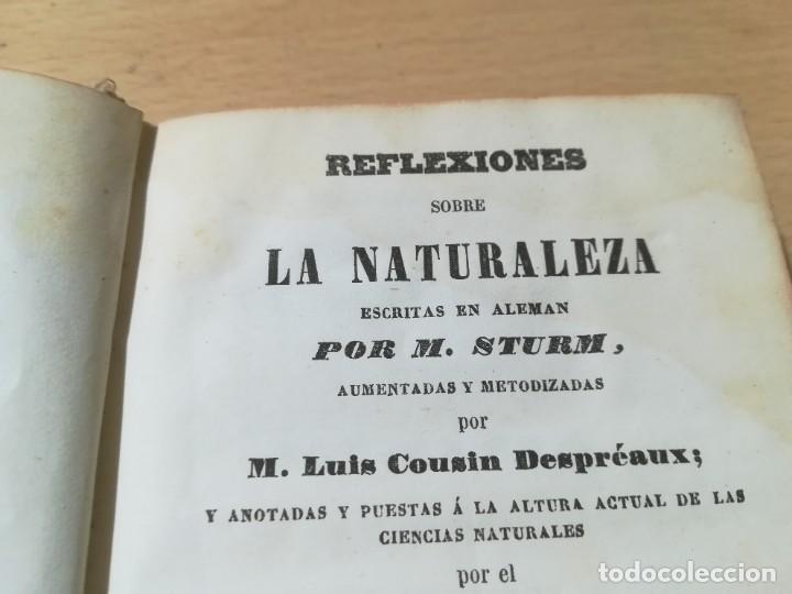 Libros antiguos: REFLEXIONES SOBRE LA NATURALEZA - M STURM / V SEPTIEMBRE OCTUBRE / 1852 LIBRERÍA RELIGIOSA BARCELONA - Foto 5 - 226645870