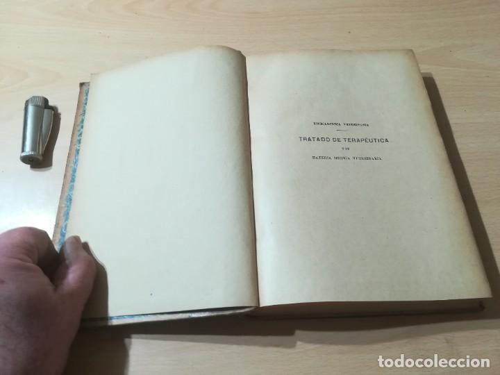 Libros antiguos: ENCICLOPEDIA VETERINARIA / TRATADO TERAPEUTICA KAUFMANN / T VII / G207 - Foto 4 - 226649075