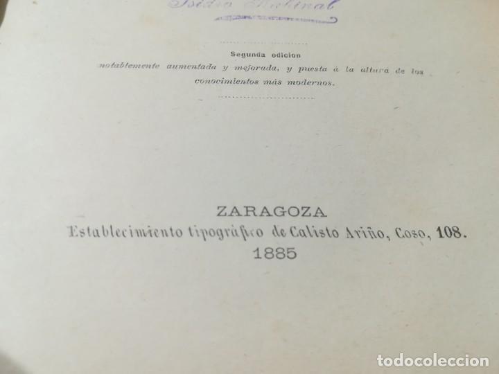 Libros antiguos: CIRUJIA ESPECIAL VETERINARIA CIRUGIA / JUAN ANTONIO SAINZ Y ROZAS / 1885 CALISTO ARIÑO ZARAGOZA / I- - Foto 8 - 226650085