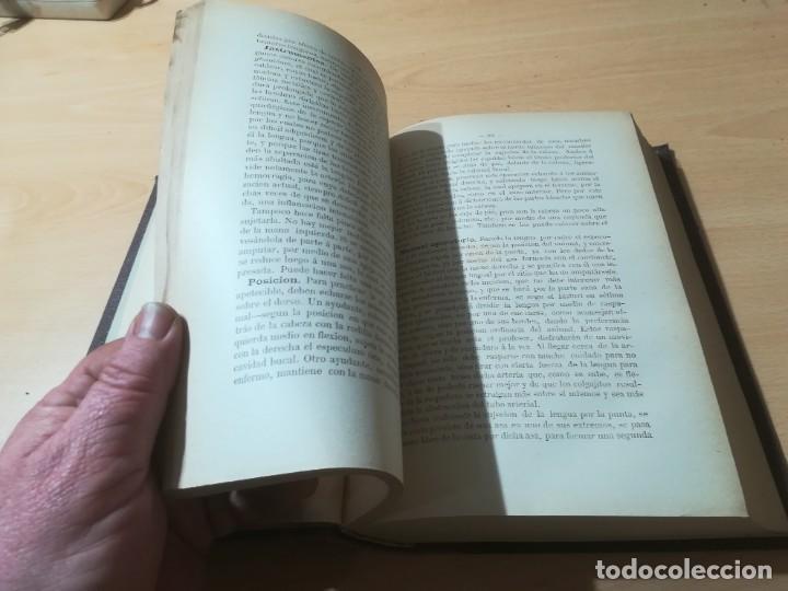 Libros antiguos: CIRUJIA ESPECIAL VETERINARIA CIRUGIA / JUAN ANTONIO SAINZ Y ROZAS / 1885 CALISTO ARIÑO ZARAGOZA / I- - Foto 17 - 226650085